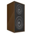 acoustic loudspeaker 02 vector image