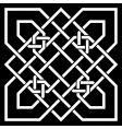 kelt ornament vector image