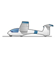 glider vector image