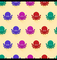 octopus pattern vector image