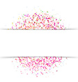 Bright abstract fresh colorful circle background vector image