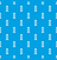 column pattern seamless blue vector image