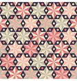 Fashion pattern with anise stars vector image