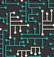 electronic circuit pattern vector image