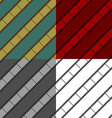 Film strip seamless background set vector image
