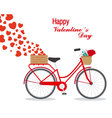 Great card for Valentines Day vector image
