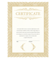 Certificate and diplomas template vector image vector image