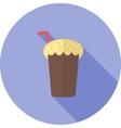 Chocolate Shake vector image