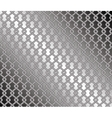 Steel mesh fence vector image