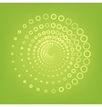Abstract technology circles line icon vector image