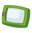 cartoon cellphone icon vector image