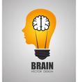 Ideas design vector image