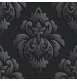 damask seamless pattern element Elegant vector image vector image