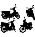Scooters vector image