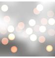 sparkling bokeh vector image