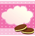 A sweet paper note vector image
