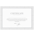 Certificate Design Gray pattern that is used in vector image vector image