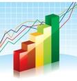 Bar charts vector image