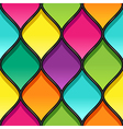 stained glass black vector image