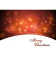 Elegant waves Christmas design vector image