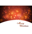 Elegant waves Christmas design vector image