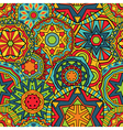 Fancy Rounds Ethnic Pattern vector image