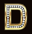 d bling vector image