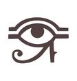 Egypt God Ra symbol hand drawn set vector image