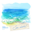 background seascape vector image