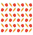 fresh and healthy vegetable vector image
