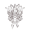 Tribal design graphic vector image
