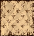 Vintage abstract pattern vector image