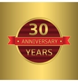 Anniversary 30 years vector image