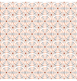 Design seamless spiral circle pattern vector image