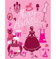 happy birthday room 380 vector image