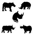RhinoSet vector image