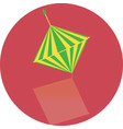 icon toy of whirligig vector image