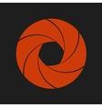 aperture design element - vector image