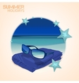 Beach Bag set vector image