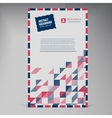 Flat UI banner Color envelope vector image
