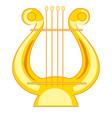music instrument lira vector image
