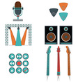 Music players and components vol 2 vector image
