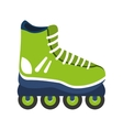 skate shoe line icon vector image