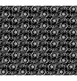 seamless pattern black white vector image