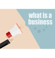 what is a business flat design business vector image