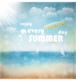Enjoy every summer day vector image