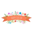 Easter spring background vector image