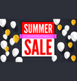 Sale text banner ready to print and use in vector image