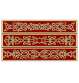 celtic ornaments and patterns for irish or religio vector image vector image