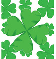 shamrock for St Patrick Day vector image